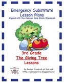 3rd Grade CCSS Emergency Sub Plans