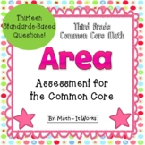 3rd Grade Common Core Area Assessment
