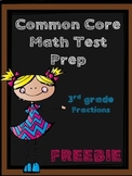 FREE TEST PREP - 3rd Grade Common Core Assessment - Fracti
