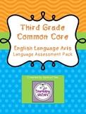 3rd Grade - Common Core ELA Language Assessments