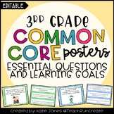 3rd Grade Common Core {Essential Questions & Learning Goal