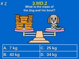 3rd Grade Common Core Math 3 MD.2 Measurement and Data