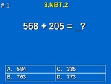 3rd Grade Common Core Math 3 NBT.2 Add & Subtract Within 1