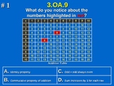 3rd Grade Common Core Math 3 OA.9 Operations 3.OA.9