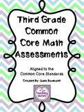 3rd Grade Common Core Math Assessments