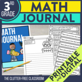 3rd Grade Common Core Math Journal: Over 100 Prompts and O