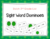 3rd Grade Dolch Sight Words Dominoes Game