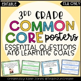 3rd Grade ELA Common Core {Essential Questions & Learning
