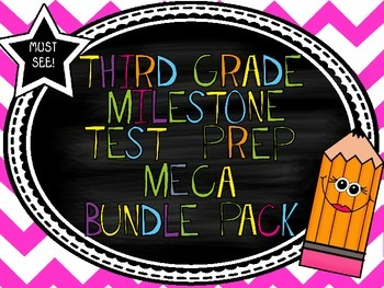 3rd Grade Georgia Milestone MEGA Bundle Pack! *MUST SEE* *DISCOUNTED!*