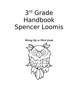 3rd Grade Handbook- Back to School