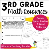 3rd Grade Math Beyond the Textbook MEGA Bundle