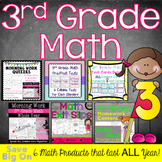 3rd Grade Math Products for the Year: Morning Work, Task C
