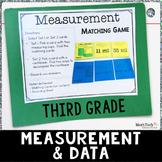3rd Grade Math TEST Prep Task Cards Set 4 - 3.MD
