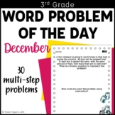 3rd Grade Problem of the Day Story Problems- December
