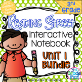 3rd Grade Reading Street Interactive Notebook Unit 1: Comm