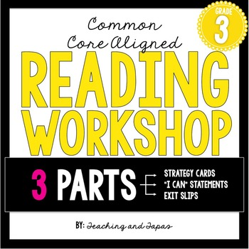 3rd Grade Reading Workshop Strategies and Skills Aligned t
