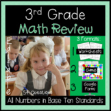 Numbers in Base Ten  Review