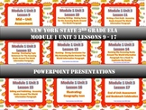 3rd NYS Grade ELA Module 1 Unit 3 Lessons 9 -17