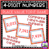 4 Digit Place Value Game:  Comparing Numbers through the T