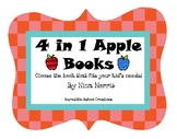 September Apple Math Books 4 in 1
