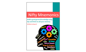 40 Lists to Learn (with helpful mnemonics)