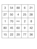 40 Multiplication Bingo Cards, War, and Times Table Flashcards