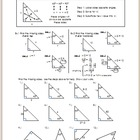 45-45-90 Special Right Triangle - Notes
