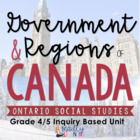 4/5 Canadian Physical Regions and Government: Social Studi