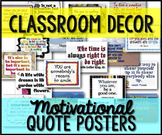 Classroom Decor Signs Posters Quotes {63 B/W & Color}