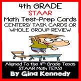 4th GRADE MATH STAAR CLASS REVIEW, CENTERS, TASK CARDS