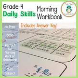 4th Grade Daily Skills Morning Workbook