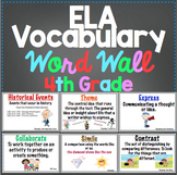 4th Grade Common Core ELA Word Wall and More