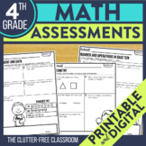 4th Grade Common Core Math Assessment Packet {Data Noteboo