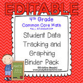 4th Grade Common Core: Math {Student Data Tracking Binder