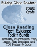 4th Grade Common Core: Tools for Close Reading, Assessment