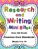 4th Grade Daily ELA Review - Research and Writing Mini Bit