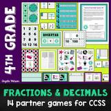 Fractions & Decimals 4th Grade