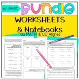 4th Grade Go Math! MEGA BUNDLE Morning Work and Notebook B