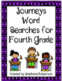 4th Grade Word Searches with Target Vocabulary from the 20