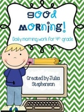 4th Grade Morning Work- Set 1