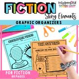 Common Core: Graphic Organizers for Reading Literature Grades 3-5
