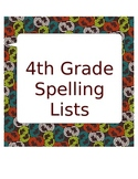 4th Grade Spelling Lists for the Year Plus Practice!  Sale!
