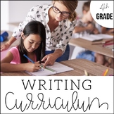 4th Grade Writing Unit Bundle {An Entire Year of Writing -