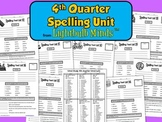 4th Quarter Spelling Unit from Lightbulb Minds