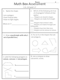 4th grade Everyday Math Units 1-12 (whole year) math box a