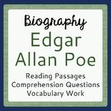 Edgar Allan Poe Warm-up Activities: 5 Days with Edgar Allan Poe