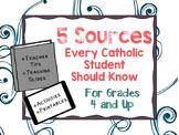 5 Sources Every Catholic Student Should Know