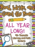 Read, Write, and Count the Room {ALL YEAR LONG} 40+ Themat