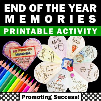 End of the Year Activities Interactive Notebook Last Day of School Summer School