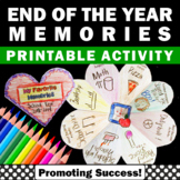 End of the Year Reflection Interactive Notebook Activities